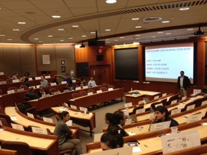 HBS Workshop with both first and second years in Cambridge, MA